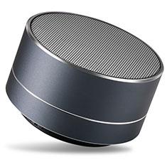 Huawei Honor Holly用Bluetoothミニスピーカー ポータブルで高音質 ポータブルスピーカー S24 ブラック