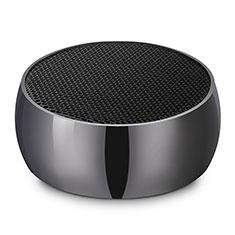 Huawei Nova 3e用Bluetoothミニスピーカー ポータブルで高音質 ポータブルスピーカー S25 ブラック