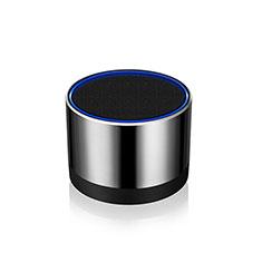 Huawei Y5 II Y5 2用Bluetoothミニスピーカー ポータブルで高音質 ポータブルスピーカー S27 シルバー