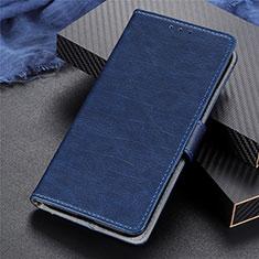 Realme 5 Pro用手帳型 レザーケース スタンド カバー L03 Realme ネイビー
