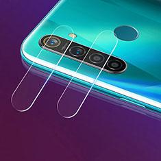 Realme 5 Pro用強化ガラス カメラプロテクター カメラレンズ 保護ガラスフイルム Realme クリア