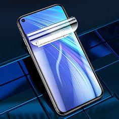 Realme 6用高光沢 液晶保護フィルム フルカバレッジ画面 Realme クリア