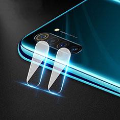 Realme 6用強化ガラス カメラプロテクター カメラレンズ 保護ガラスフイルム Realme クリア