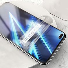 Realme 6 Pro用高光沢 液晶保護フィルム フルカバレッジ画面 Realme クリア