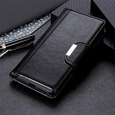 Realme 7i用手帳型 レザーケース スタンド カバー L02 Realme ブラック