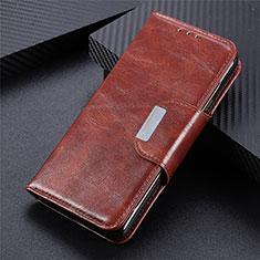 Realme C11用手帳型 レザーケース スタンド カバー L05 Realme ブラウン