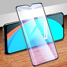 Realme C11用強化ガラス フル液晶保護フィルム アンチグレア ブルーライト Realme ブラック