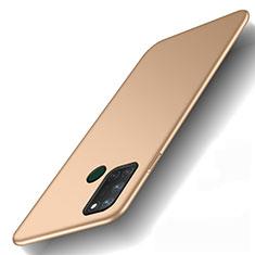 Realme C17用ハードケース プラスチック 質感もマット カバー M01 Realme ゴールド