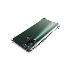Realme C17用極薄ソフトケース シリコンケース 耐衝撃 全面保護 クリア透明 カバー Realme クリア