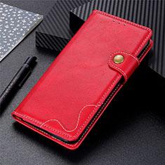 Realme Narzo 20 Pro用手帳型 レザーケース スタンド カバー L06 Realme レッド