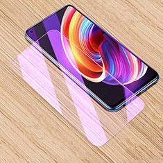 Realme Q2 Pro 5G用アンチグレア ブルーライト 強化ガラス 液晶保護フィルム Realme クリア