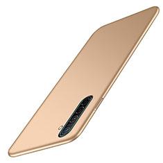 Realme XT用ハードケース プラスチック 質感もマット カバー M02 Realme ゴールド