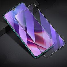 Realme XT用強化ガラス フル液晶保護フィルム アンチグレア ブルーライト F02 Realme ブラック