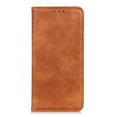 Samsung Galaxy A01 Core用手帳型 レザーケース スタンド カバー L02 サムスン オレンジ