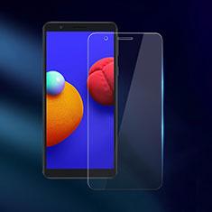 Samsung Galaxy A01 Core用強化ガラス 液晶保護フィルム サムスン クリア