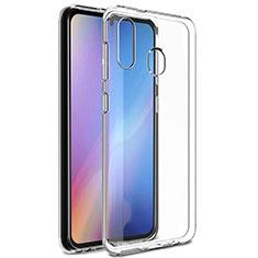 Samsung Galaxy A20e用極薄ソフトケース シリコンケース 耐衝撃 全面保護 クリア透明 カバー サムスン クリア