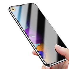 Samsung Galaxy A21s用反スパイ 強化ガラス 液晶保護フィルム サムスン クリア