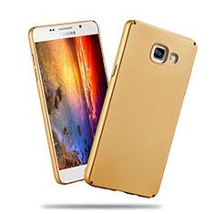 Samsung Galaxy A3 (2016) SM-A310F用ハードケース プラスチック 質感もマット サムスン ゴールド