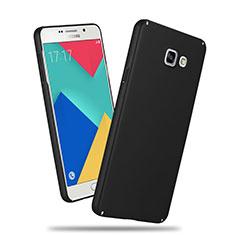 Samsung Galaxy A3 (2016) SM-A310F用ハードケース プラスチック 質感もマット サムスン ブラック