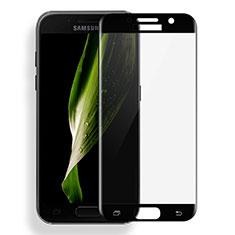 Samsung Galaxy A3 (2017) SM-A320F用強化ガラス フル液晶保護フィルム サムスン ブラック