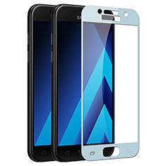 Samsung Galaxy A3 (2017) SM-A320F用強化ガラス フル液晶保護フィルム F03 サムスン ネイビー