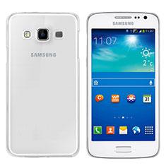 Samsung Galaxy A3 SM-300F用極薄ソフトケース シリコンケース 耐衝撃 全面保護 クリア透明 T02 サムスン クリア