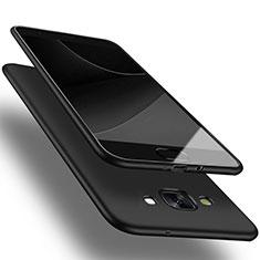 Samsung Galaxy A3 SM-300F用極薄ソフトケース シリコンケース 耐衝撃 全面保護 サムスン ブラック