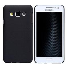 Samsung Galaxy A3 SM-300F用ハードケース プラスチック 質感もマット M02 サムスン ブラック