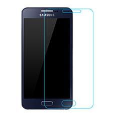 Samsung Galaxy A3 SM-300F用強化ガラス 液晶保護フィルム T02 サムスン クリア
