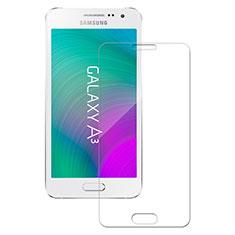 Samsung Galaxy A3 SM-300F用強化ガラス 液晶保護フィルム サムスン クリア