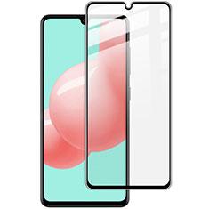 Samsung Galaxy A41用強化ガラス フル液晶保護フィルム サムスン ブラック