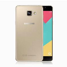 Samsung Galaxy A5 (2017) Duos用極薄ソフトケース シリコンケース 耐衝撃 全面保護 クリア透明 T02 サムスン クリア