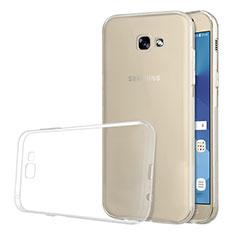 Samsung Galaxy A5 (2017) Duos用極薄ソフトケース シリコンケース 耐衝撃 全面保護 クリア透明 T03 サムスン クリア