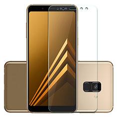 Samsung Galaxy A5 (2018) A530F用強化ガラス 液晶保護フィルム T01 サムスン クリア