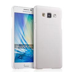 Samsung Galaxy A5 Duos SM-500F用ハードケース プラスチック 質感もマット サムスン ホワイト