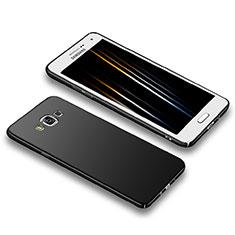 Samsung Galaxy A5 Duos SM-500F用ハードケース プラスチック 質感もマット M02 サムスン ブラック