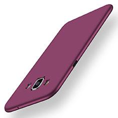 Samsung Galaxy A5 Duos SM-500F用極薄ソフトケース シリコンケース 耐衝撃 全面保護 S01 サムスン パープル