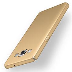 Samsung Galaxy A5 Duos SM-500F用ハードケース プラスチック 質感もマット M03 サムスン ゴールド
