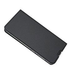 Samsung Galaxy A50用手帳型 レザーケース スタンド カバー サムスン ブラック