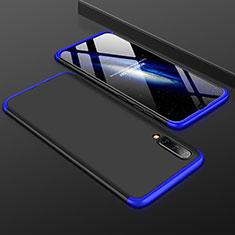 Samsung Galaxy A50用ハードケース プラスチック 質感もマット 前面と背面 360度 フルカバー サムスン ネイビー・ブラック