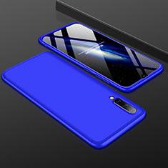 Samsung Galaxy A50用ハードケース プラスチック 質感もマット 前面と背面 360度 フルカバー サムスン ネイビー
