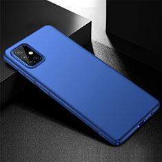 Samsung Galaxy A51 4G用ハードケース プラスチック 質感もマット カバー M01 サムスン ネイビー