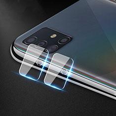 Samsung Galaxy A51 4G用強化ガラス カメラプロテクター カメラレンズ 保護ガラスフイルム サムスン クリア