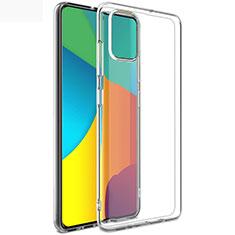 Samsung Galaxy A51 5G用極薄ソフトケース シリコンケース 耐衝撃 全面保護 クリア透明 T02 サムスン クリア