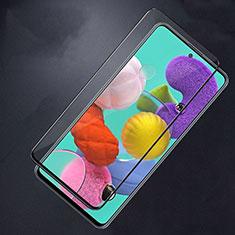 Samsung Galaxy A51 5G用強化ガラス フル液晶保護フィルム F02 サムスン ブラック