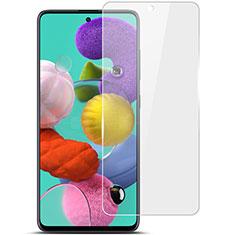 Samsung Galaxy A51 5G用強化ガラス 液晶保護フィルム T02 サムスン クリア