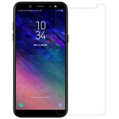 Samsung Galaxy A6 (2018)用強化ガラス 液晶保護フィルム サムスン クリア
