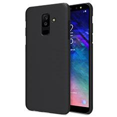 Samsung Galaxy A6 Plus (2018)用極薄ソフトケース シリコンケース 耐衝撃 全面保護 サムスン ブラック