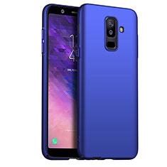 Samsung Galaxy A6 Plus (2018)用ハードケース プラスチック 質感もマット M03 サムスン ネイビー
