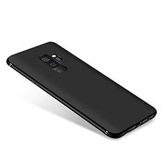 Samsung Galaxy A6 Plus (2018)用極薄ソフトケース シリコンケース 耐衝撃 全面保護 S03 サムスン ブラック